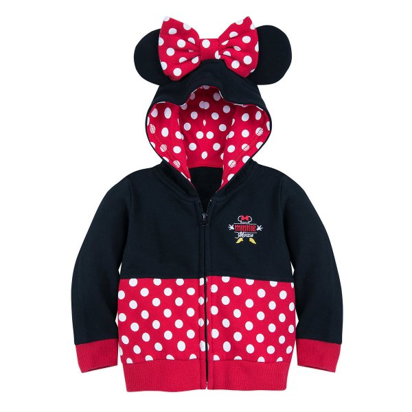 Minnie Mouse Zip Up Hoodie
