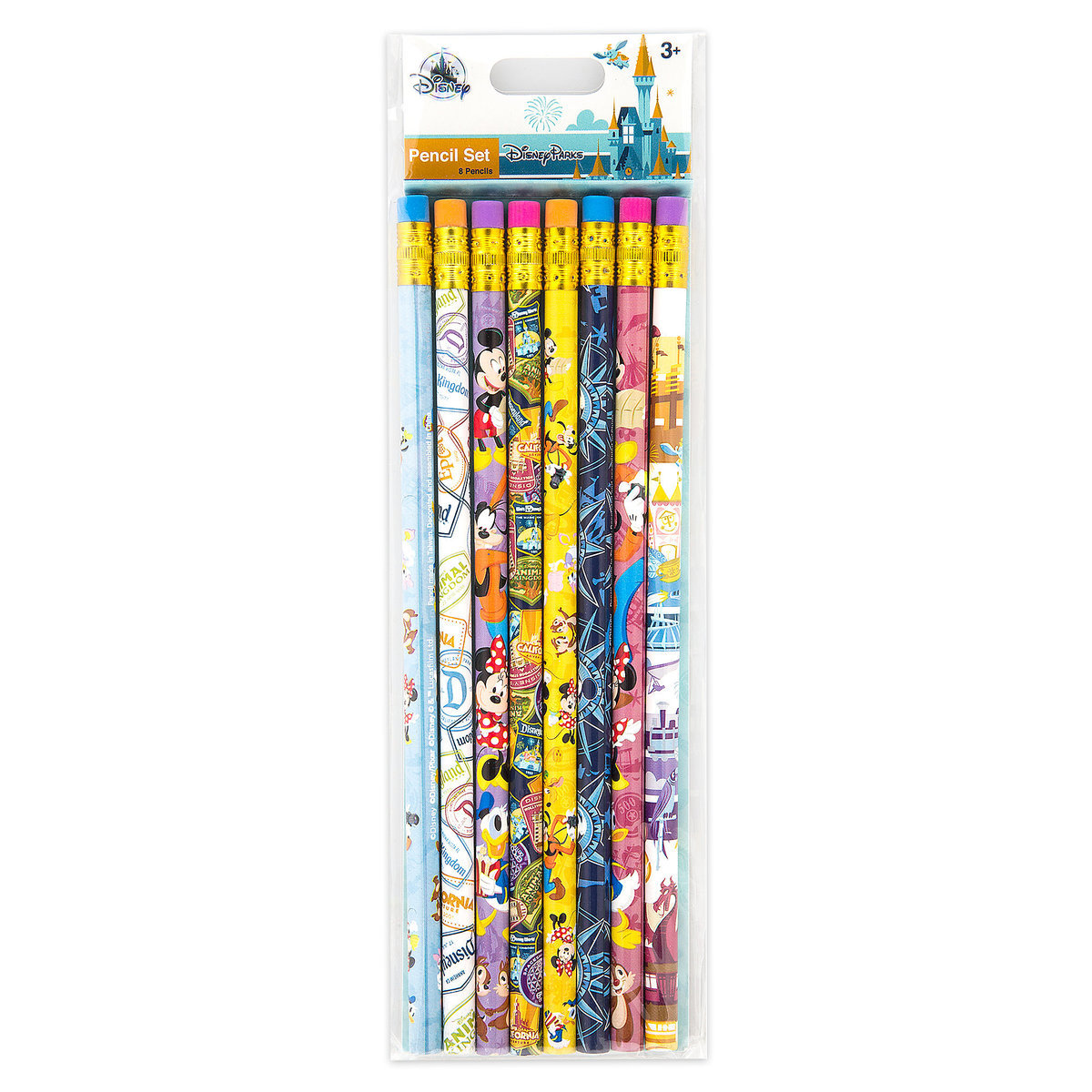 disney pencil set 8