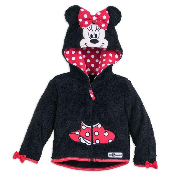 Disney Infant Hoodie - Minnie Mouse Hooded Fleece Jacket