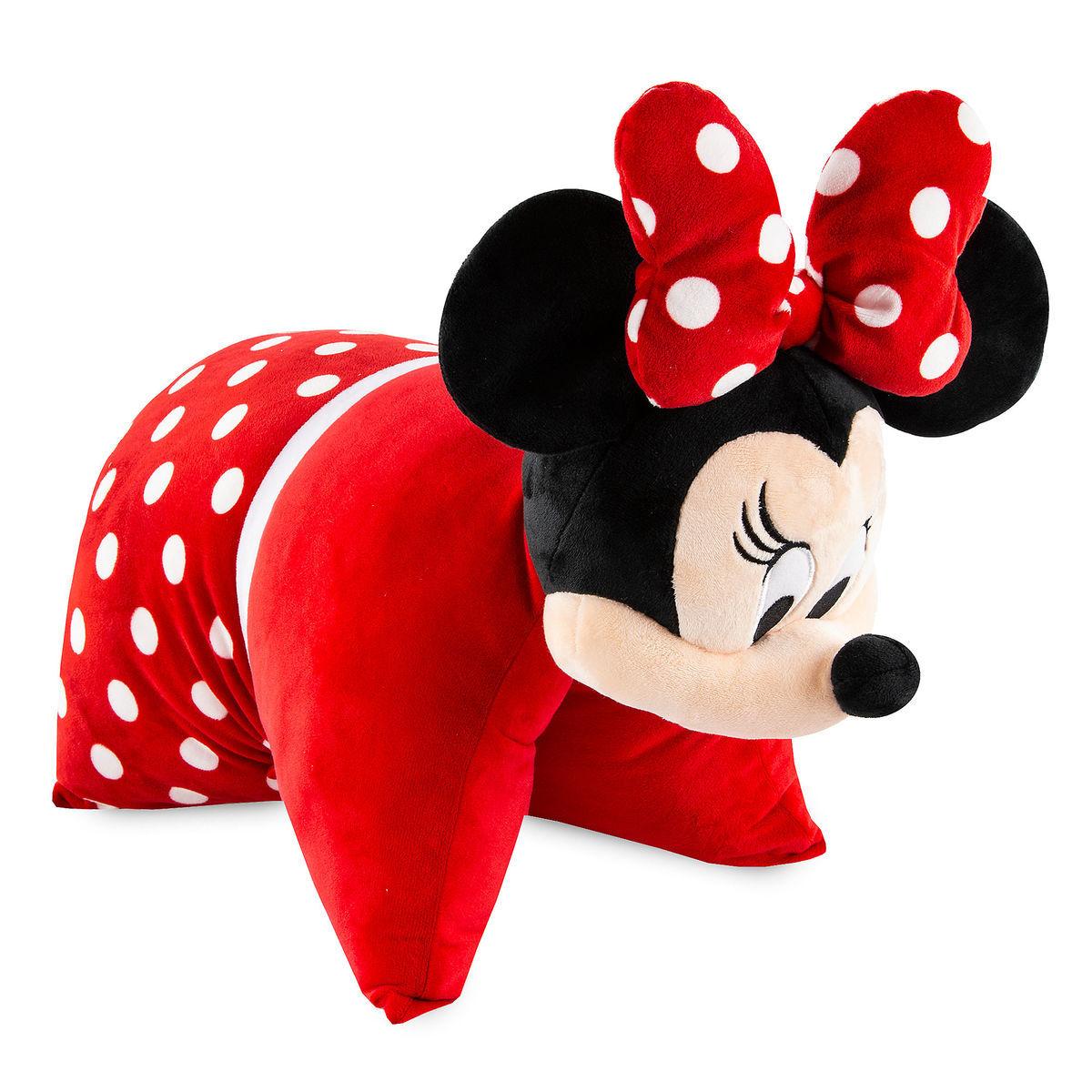 disney pillow pet minnie mouse reverse pillow plush