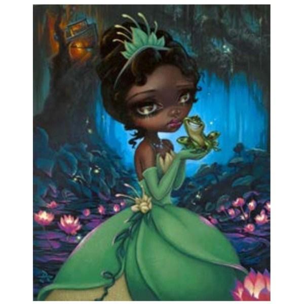 Disney Print - Tiana Jasmine Becket-griffith