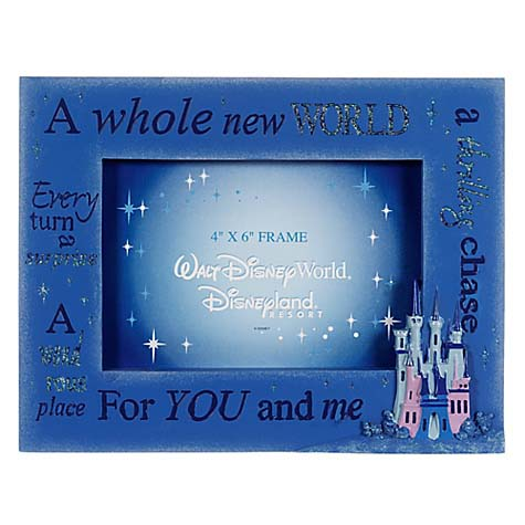 Your WDW Store Disney Picture Frame Quotes Aladdin