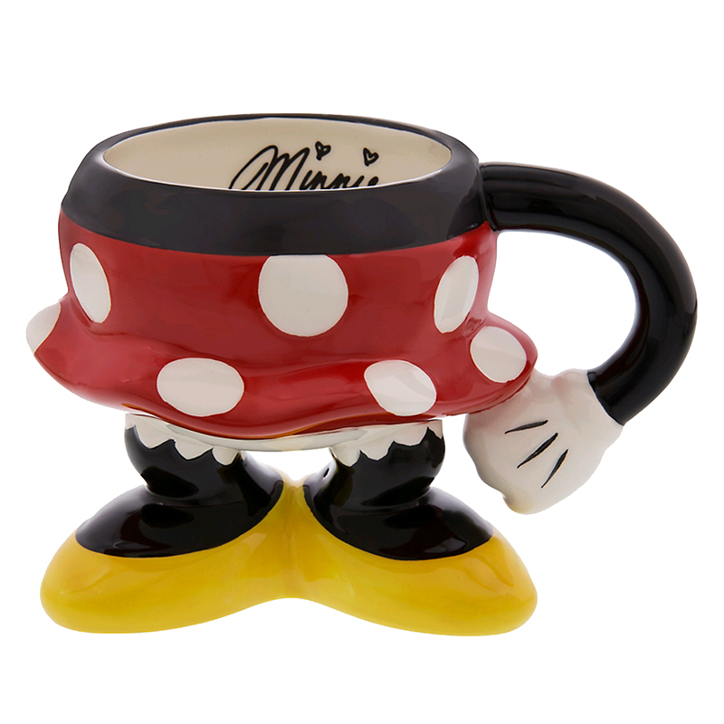 Disney Coffee Cup Mug Minnie Mouse Legs Best Of Mickey