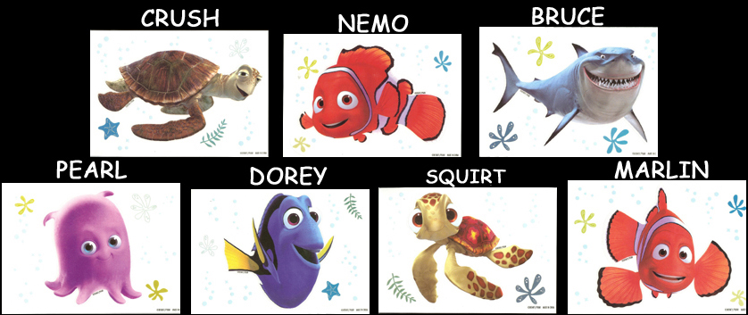 Finding Nemo Characters Pearl