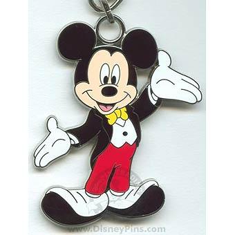 Disney Lanyard Medal Mickey Mouse Tuxedo