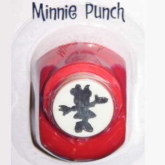 Your WDW Store  Disney Scrapbooking Paper Punch  Minnie Mouse Body