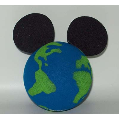 Disney Antenna Topper Mickey Mouse Ears Globe