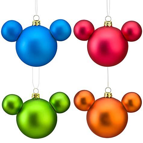 Mouse Christmas Ornaments