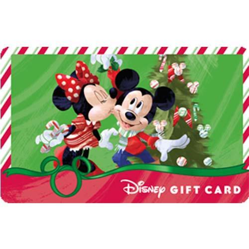 Disney Collectible Gift Card Christmas Mistletoe
