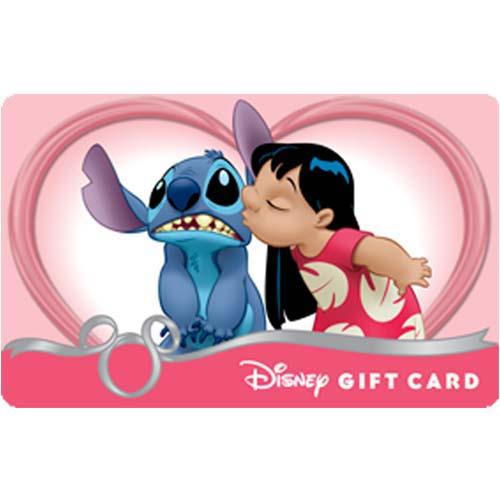 Disney Collectible Gift Card Lilo Amp Stitch Valentine