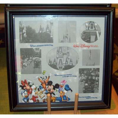 Disney Picture Frame Collage Where Dreams Come True