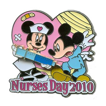Your WDW Store Disney Nurses Day Pin 2010 Mickey And