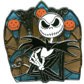 Disney Halloween Pin - Halloween 2010 - Jack Skellington