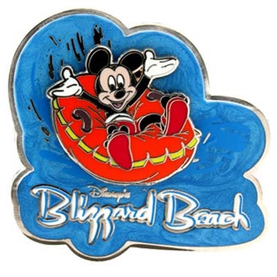 Disneys Blizzard Beach Water Park Pin Mickey Mouse