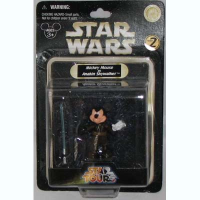 Disney Star Wars Figurine Anakin Skywalker Mickey Mouse