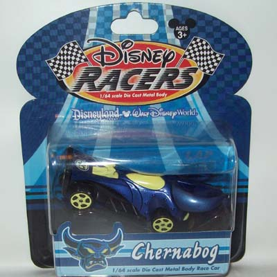 Disney Racers Die Cast Car Chernabog