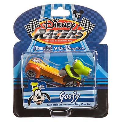 Disney Racers  Die Cast Car  Goofy