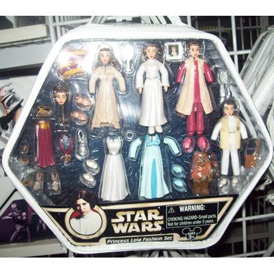 Your WDW Store  Disney Figurine Set  Star Wars Princess