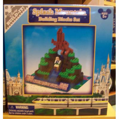Your WDW Store  Disney Figurine Set  BuildIt  Splash Mountain