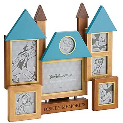 Your WDW Store Disney Picture Frame Collage Castle