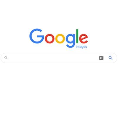 Google images hompage
