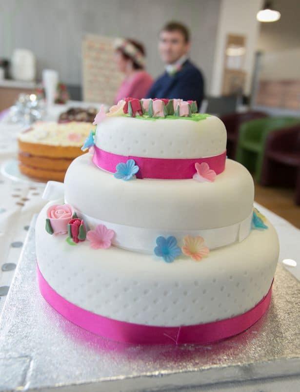 asda wedding cake