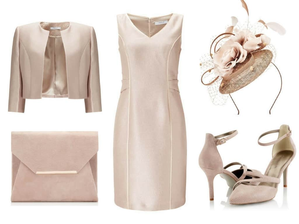 Rose Gold Jacques Vert Outfit