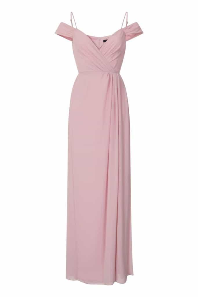 TFNC Celena Pink Maxi Dress