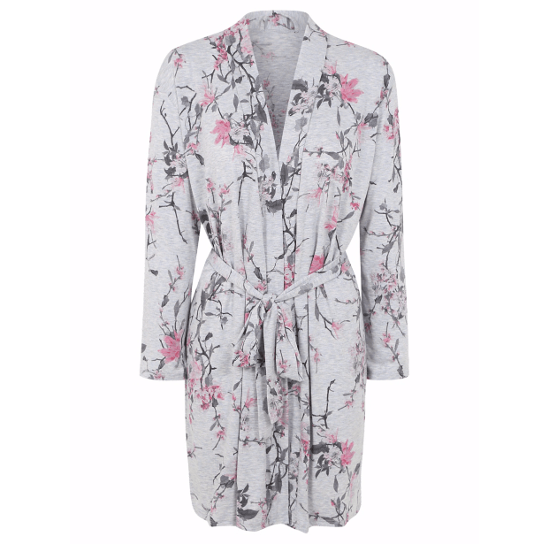 tickled pink dressing gown
