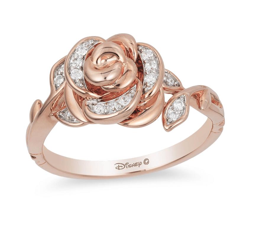 Belle inspired ring
