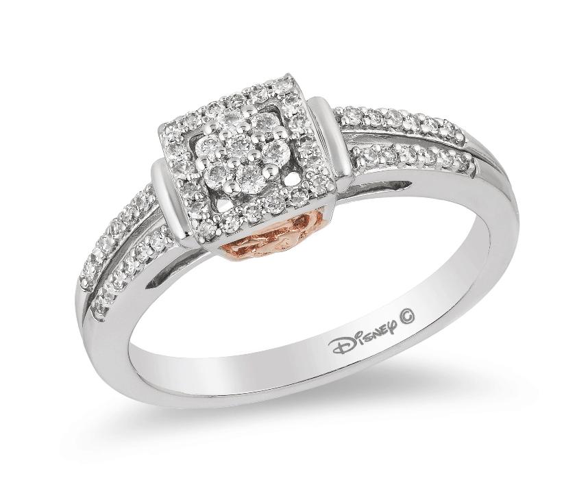 hub belle engagement ring