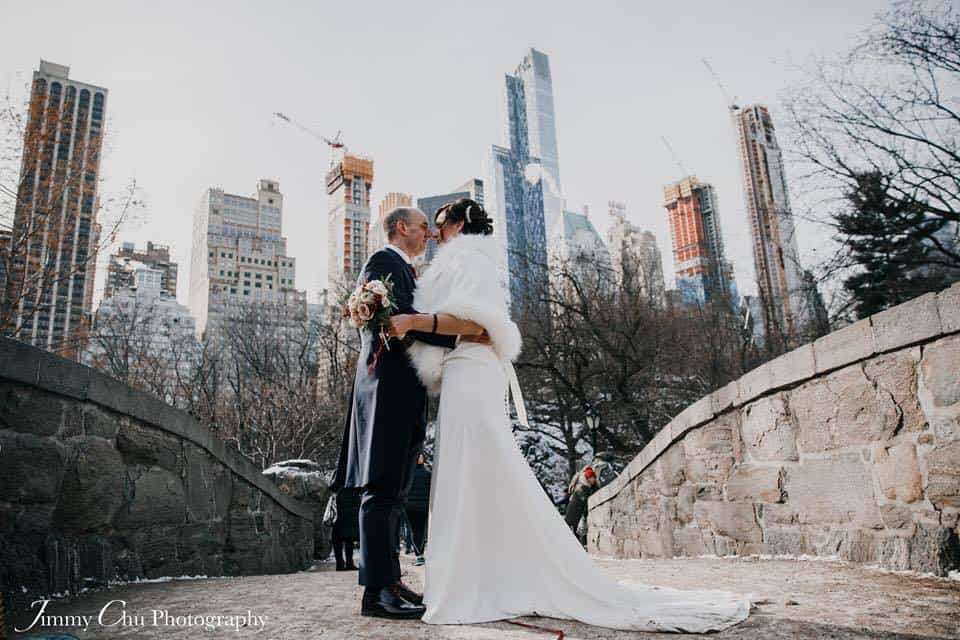 new york wedding bridge