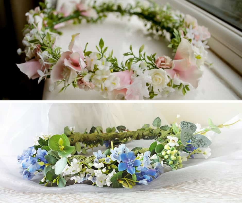 floral hair crowns