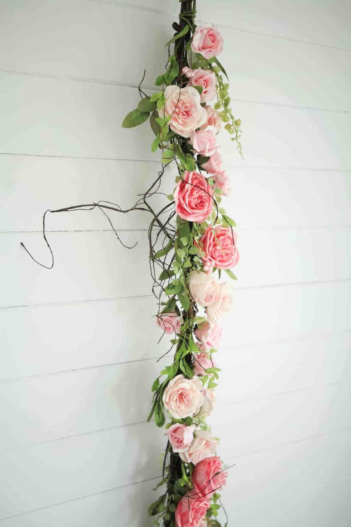 pretty pink garland