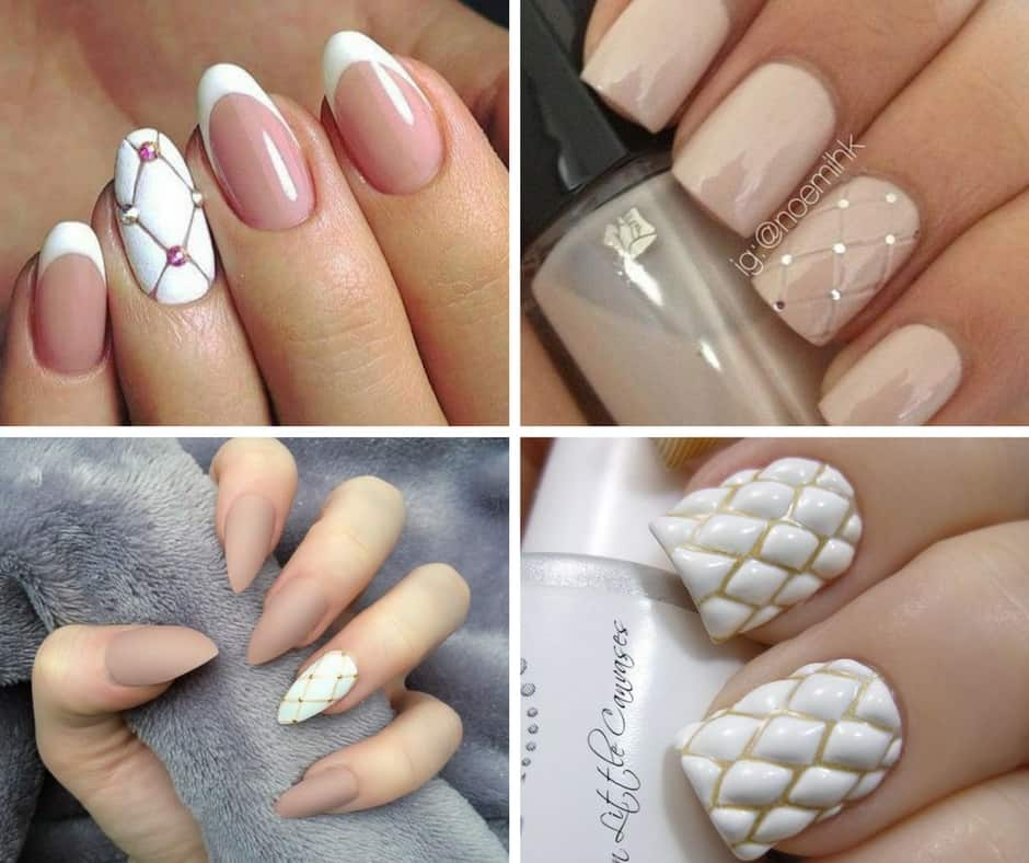 quilted nail designs