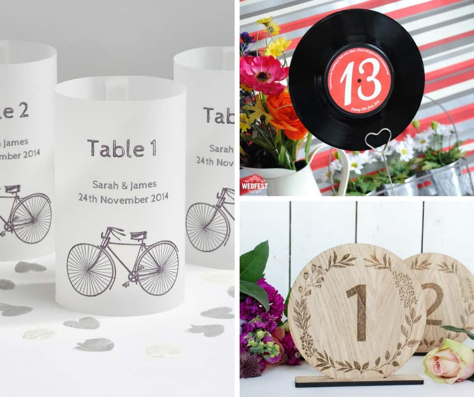table numbers etsy decor blog