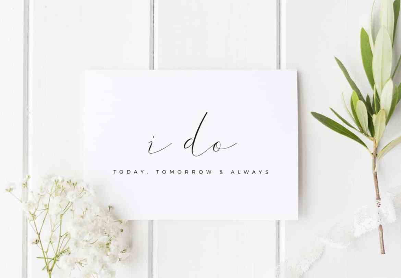 other half wedding day card