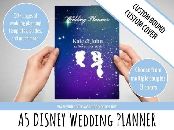 Disney themed wedding planner
