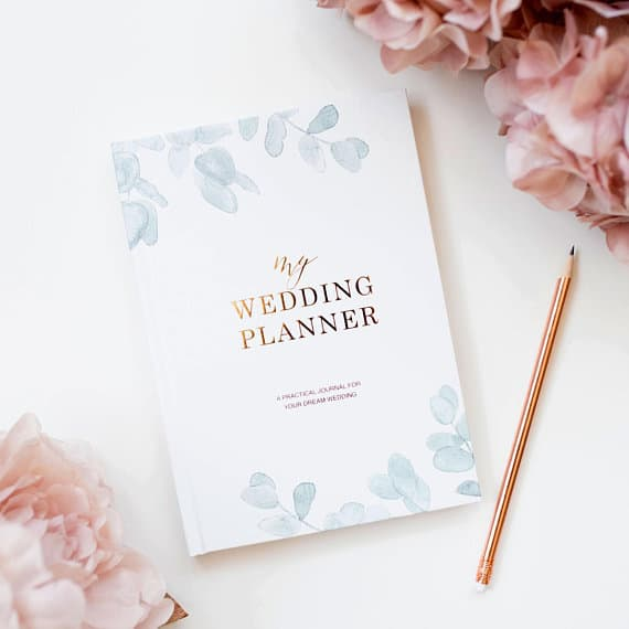 Luxury Wedding Planner Scrapbook