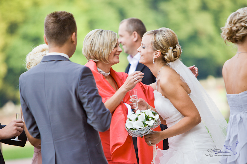 Eine Hochzeit auf Schloss Nordkirchen