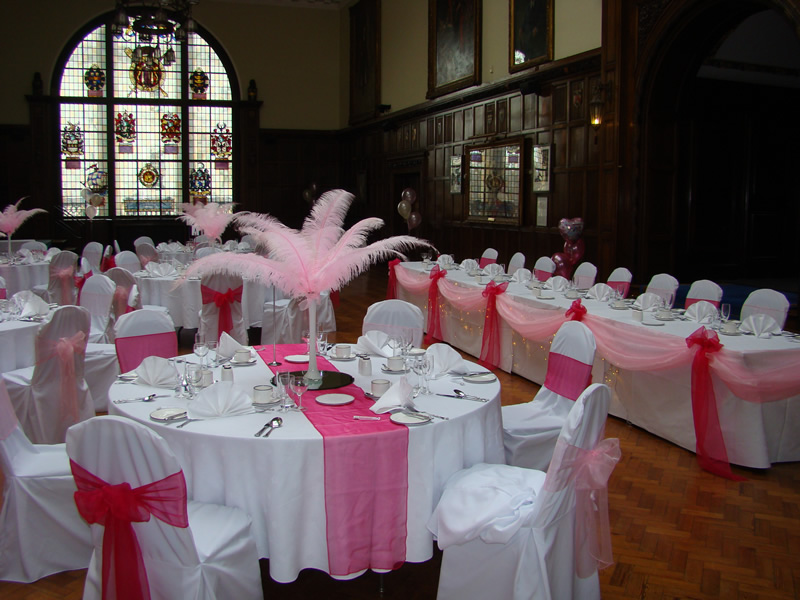 chair covers wedding hull high alternatives for toddlers balloons and party decoration cover hire lincolnshire guild hall