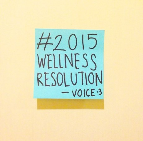 @voicesph Our #2015WellnessResolution is to continuously improve writing for the community, by the community.