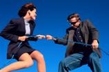 Man and Woman Strugglingg