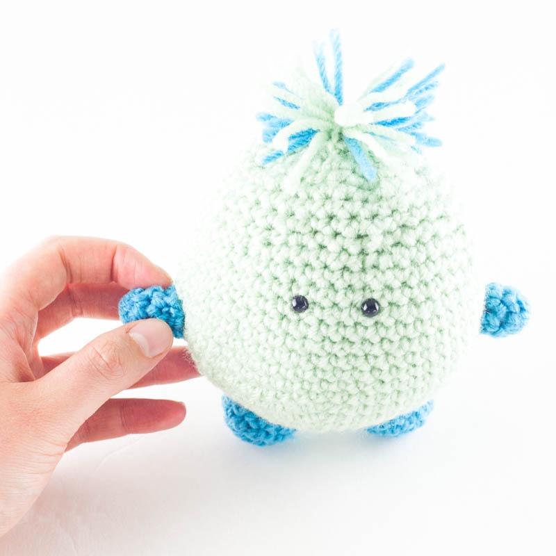 Herman Amigurumi | YouShouldCraft.com #crochet #freepattern
