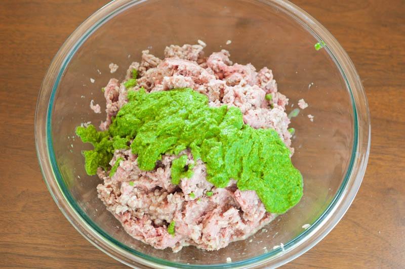 Pesto Meatballs + What I'm Eating on #Whole30   YouShouldCraft.com #paleo