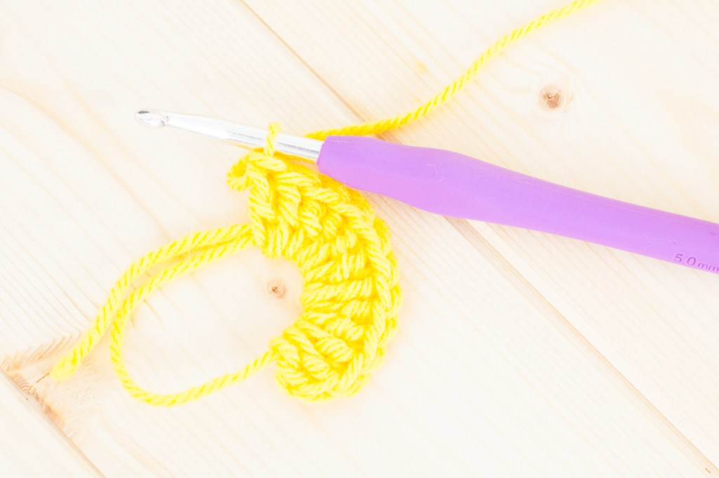 Learn how to #crochet in the round with the magic ring. This step-by-step photo and video tutorial via @YouShouldCraft will show you how!