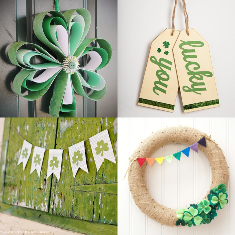 Get ready for St. Patrick's Day with 92 crafts, crochet patterns, printables, and dessert recipes! Curated by @YouShouldCraft
