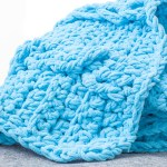 Braids and Twists Chunky Throw – Free Crochet Pattern