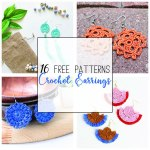 16 Free Crochet Earring Patterns