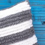 Loop Stitch Pillow – Free Crochet Pattern